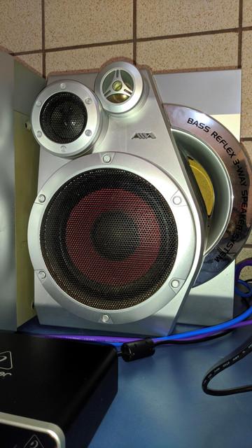 Resgatando um antigo system Aiwa, para uso como monitor/amplificador 6