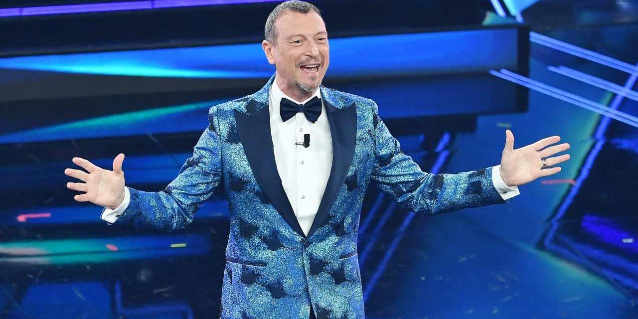 Amadeus conduce per la terza volta Sanremo