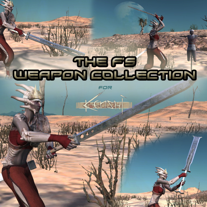 F's Weapon Collection (RU)