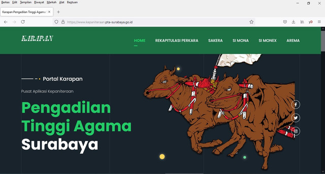 Launching Portal Aplikasi Kepanitera Pta Surabaya Dan Sosialisasi Jaminan Pemenuhan Hak Hak Perempuan Dan Anak Pasca Perceraian