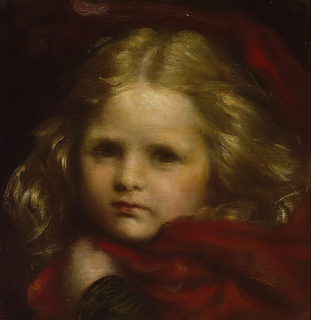 George-Frederick-Watts-Little-Red-Riding