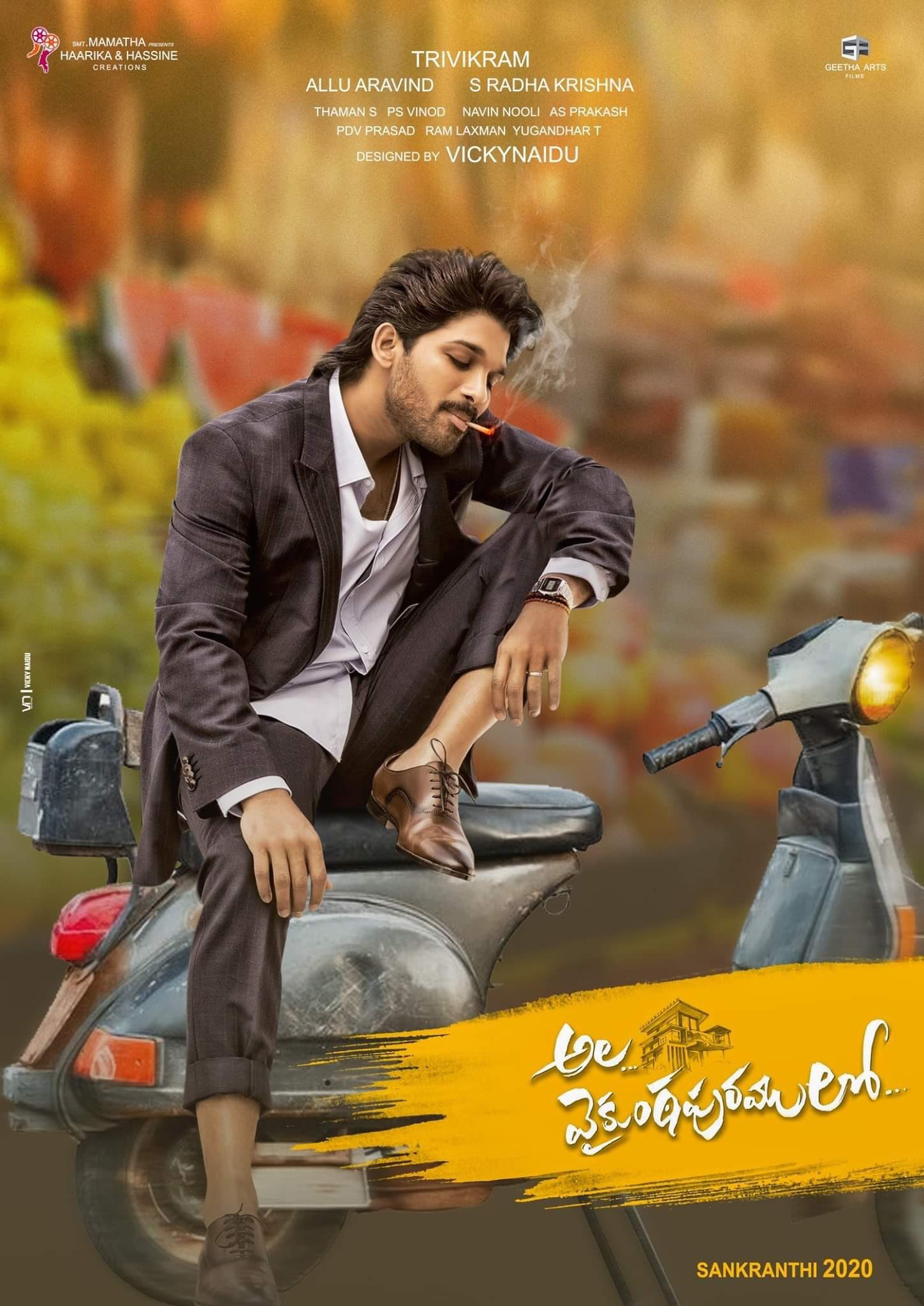 Ala Vaikunthapurramuloo (2020) Hindi Dubbed 720p WEBRip 950MB Download