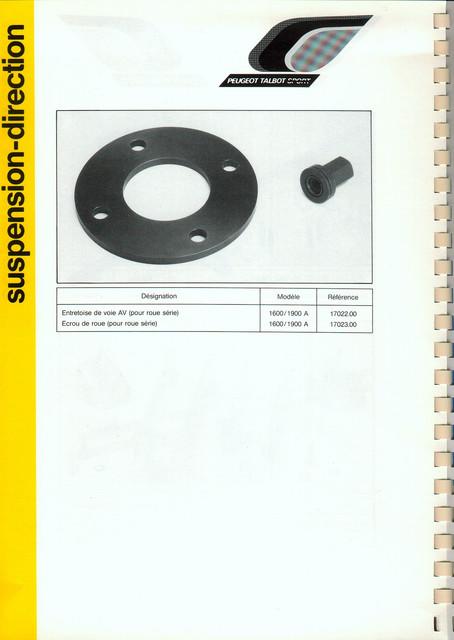 Catalogue PTS pièces compétition - 205 GTI 1600-1900 gr. N/A PTS-Suspension-Direction-9