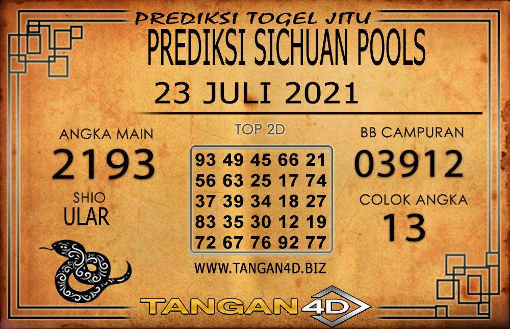 PREDIKSI TOGEL SICHUAN TANGAN4D 23 JULI 2021