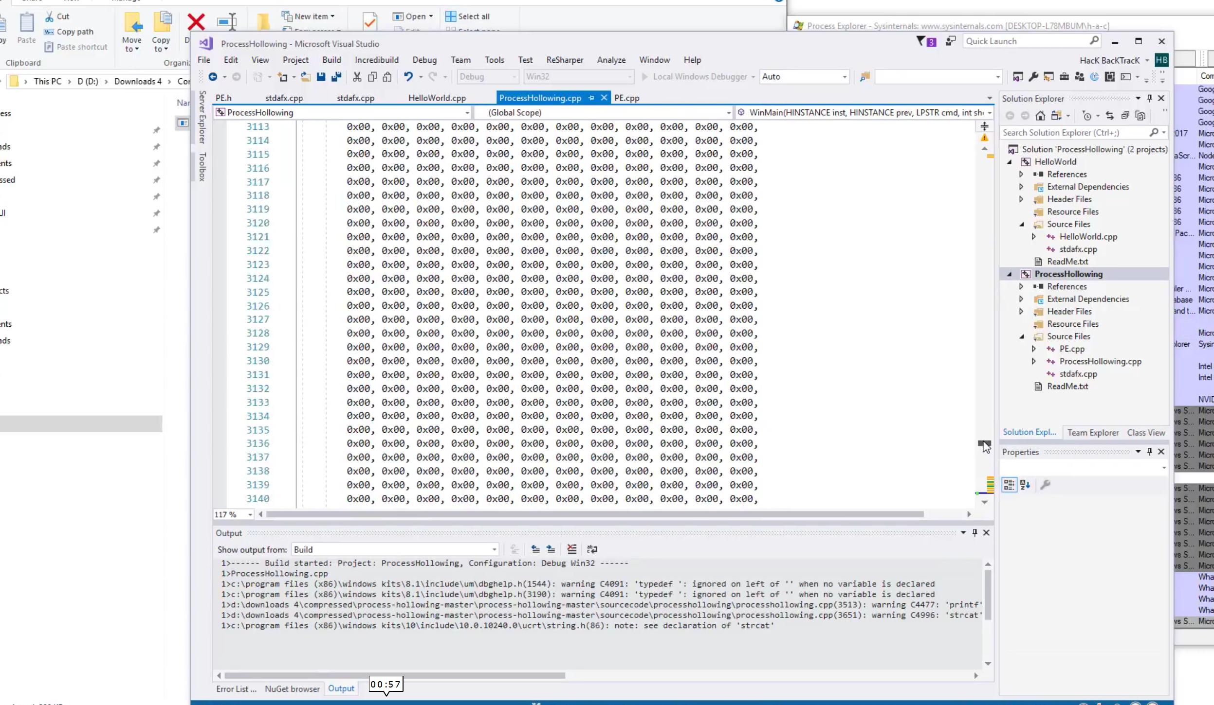 ProcessHollowing > Cpp (ٍSCR)