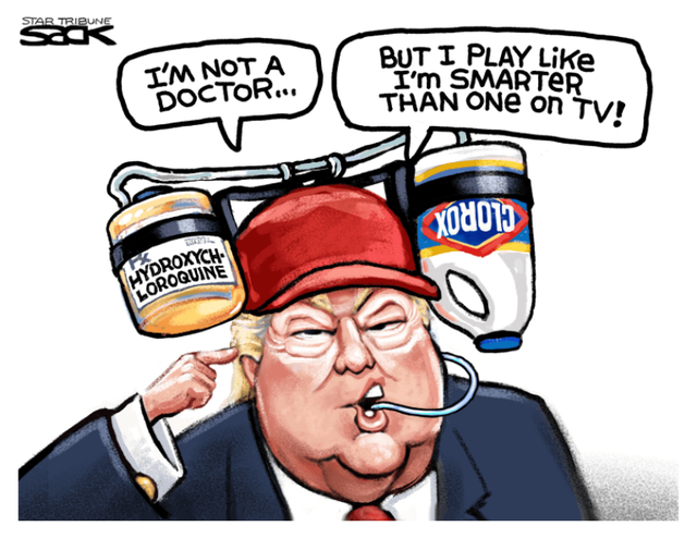 Trump-and-hydroxychloroquine-Bleach
