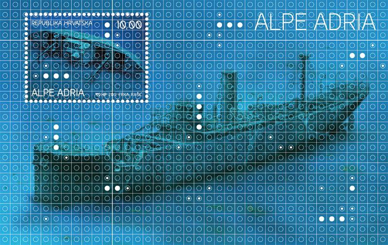 2011. year ALPE-ADRIA-POTOPLJENI-BRODOVI-JADRANA-BLOK