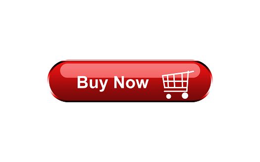 buy-now-red-three-dimensional-square-button-isolated-on-white-background
