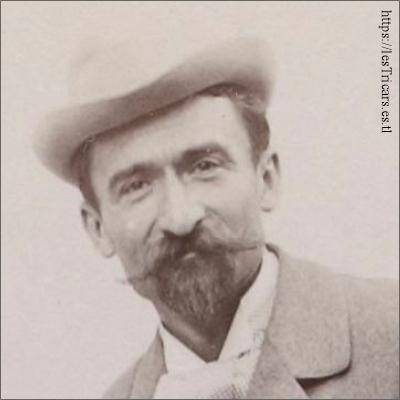 Gaston Rivierre, portrait 1898