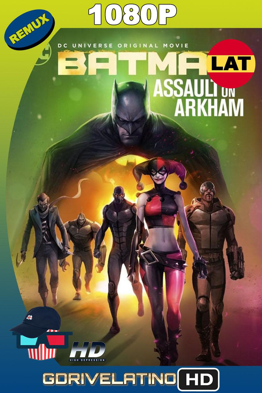 Batman: Ataque a Arkham (2014) BDRemux 1080p Latino-Inglés MKV