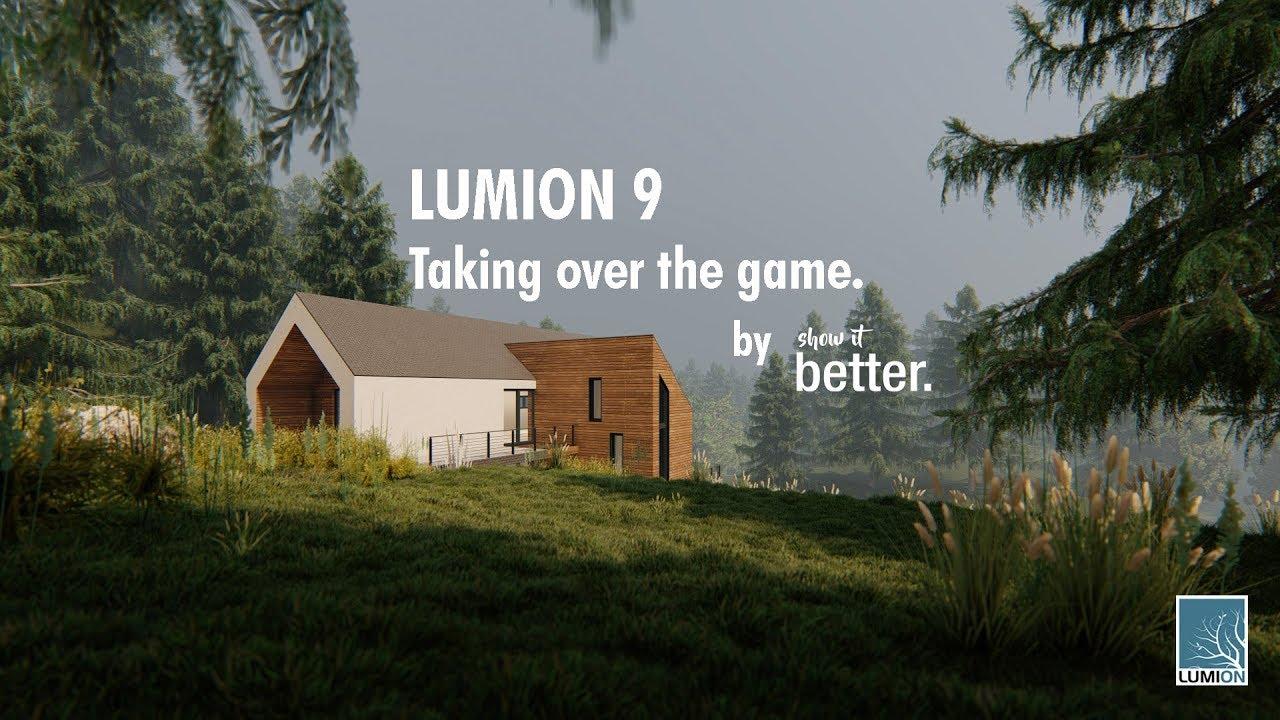 Lumion 9 + CRACK PC FREE Download + License Fix » Full indir