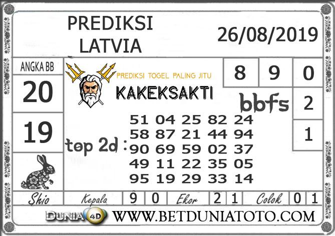 "Prediksi Togel ""LATVIA"" DUNIA4D 26 AGUSTUS 2019"