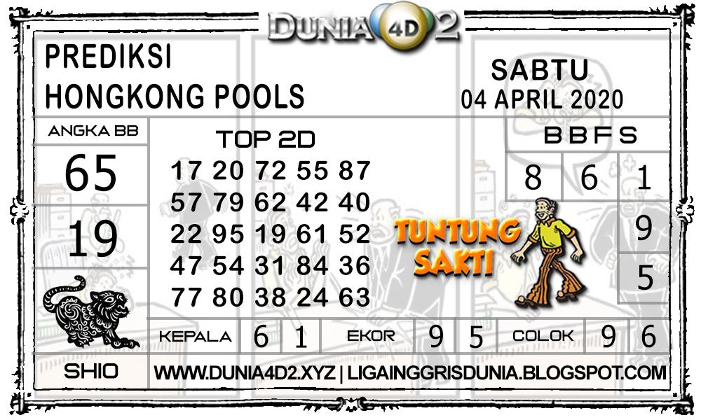Prediksi Togel HONGKONG DUNIA4D2 04 APRIL 2020