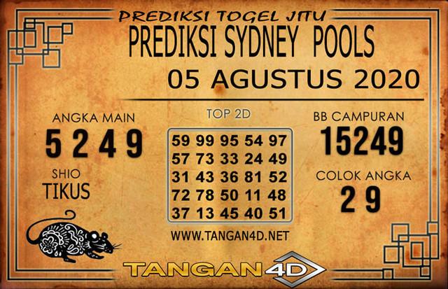 PREDIKSI TOGEL SYDNEY TANGAN4D 05 AGUSTUS 2020