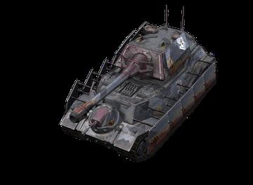 Премиум танк Vulcan World of Tanks Blitz