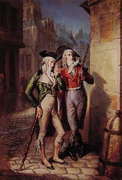 Боевые трости, Франция, 1795г