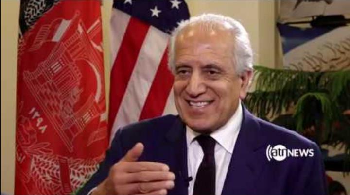خليلزاد:د افغان دولت له پلاوي سره پر نه کتلو پاکستان هم پر طالبانو نيوکه وکړه