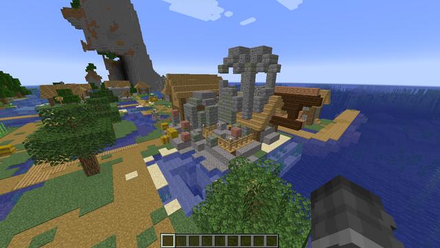 boat house ruins
