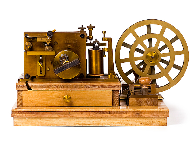 Morse's first electromagnetic telegraph became a truly important invention in the history of civilization