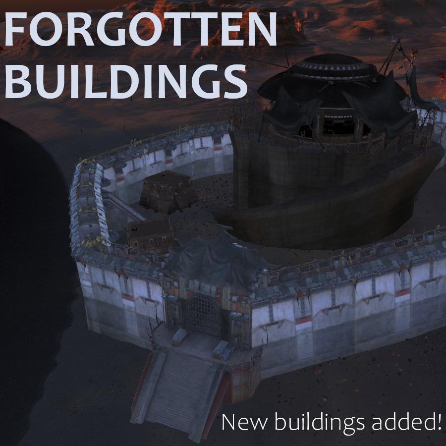 Forgotten Buildings / Все имеющиеся постройки