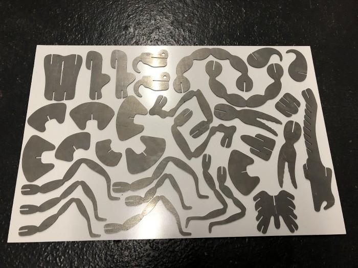 33 pieces