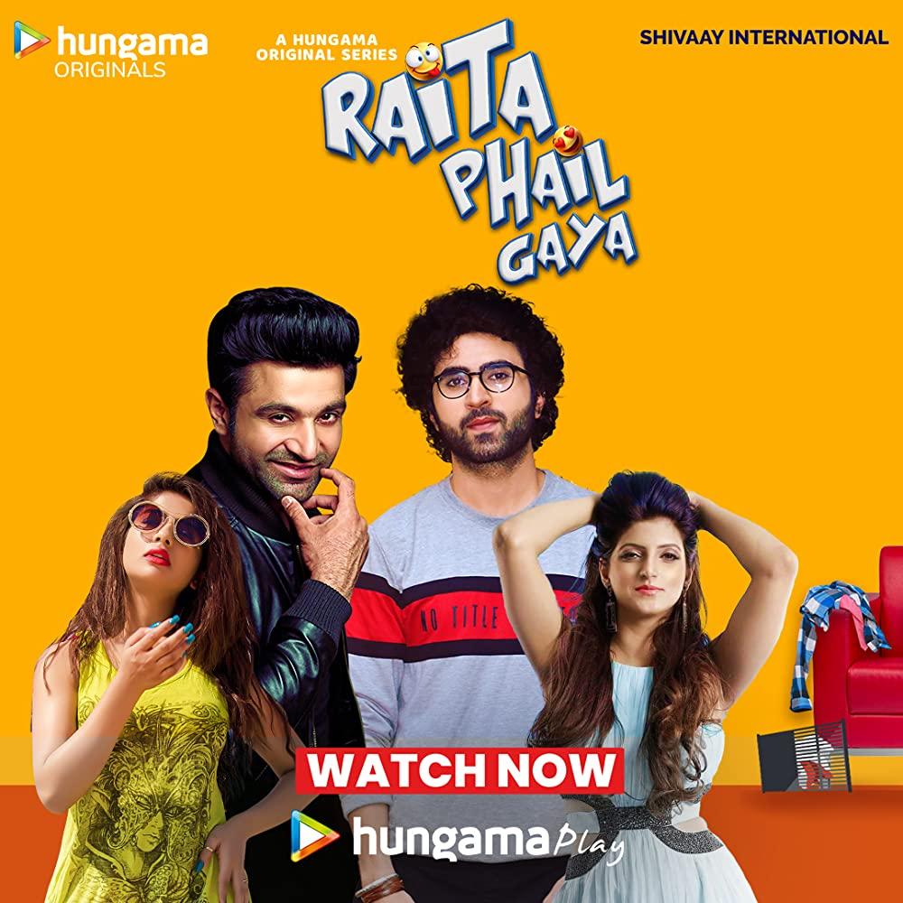 Raita Phail Gaya 2020 Hindi S01 Complete Hungama Web Series 720p HDRip 750MB | 300MB Download
