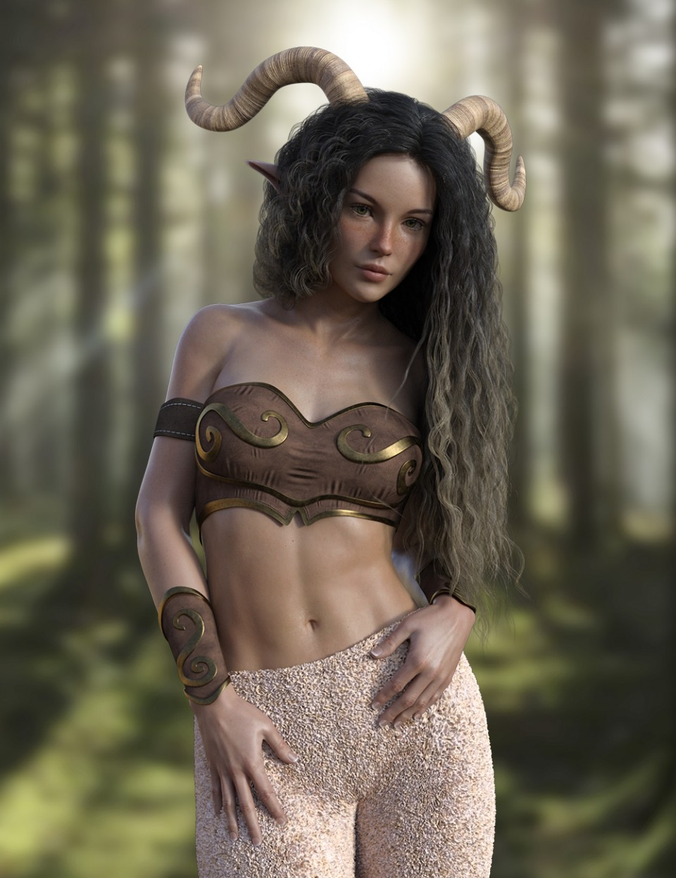 X-Fashion Satyr Outfit for Genesis 8 Female(s)