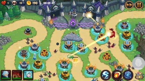Jogos de defesa de torre para Android