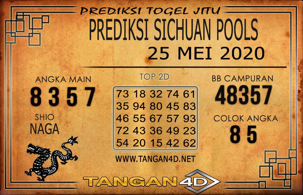 PREDIKSI TOGEL SICHUAN TANGAN4D 25 MEI 2020