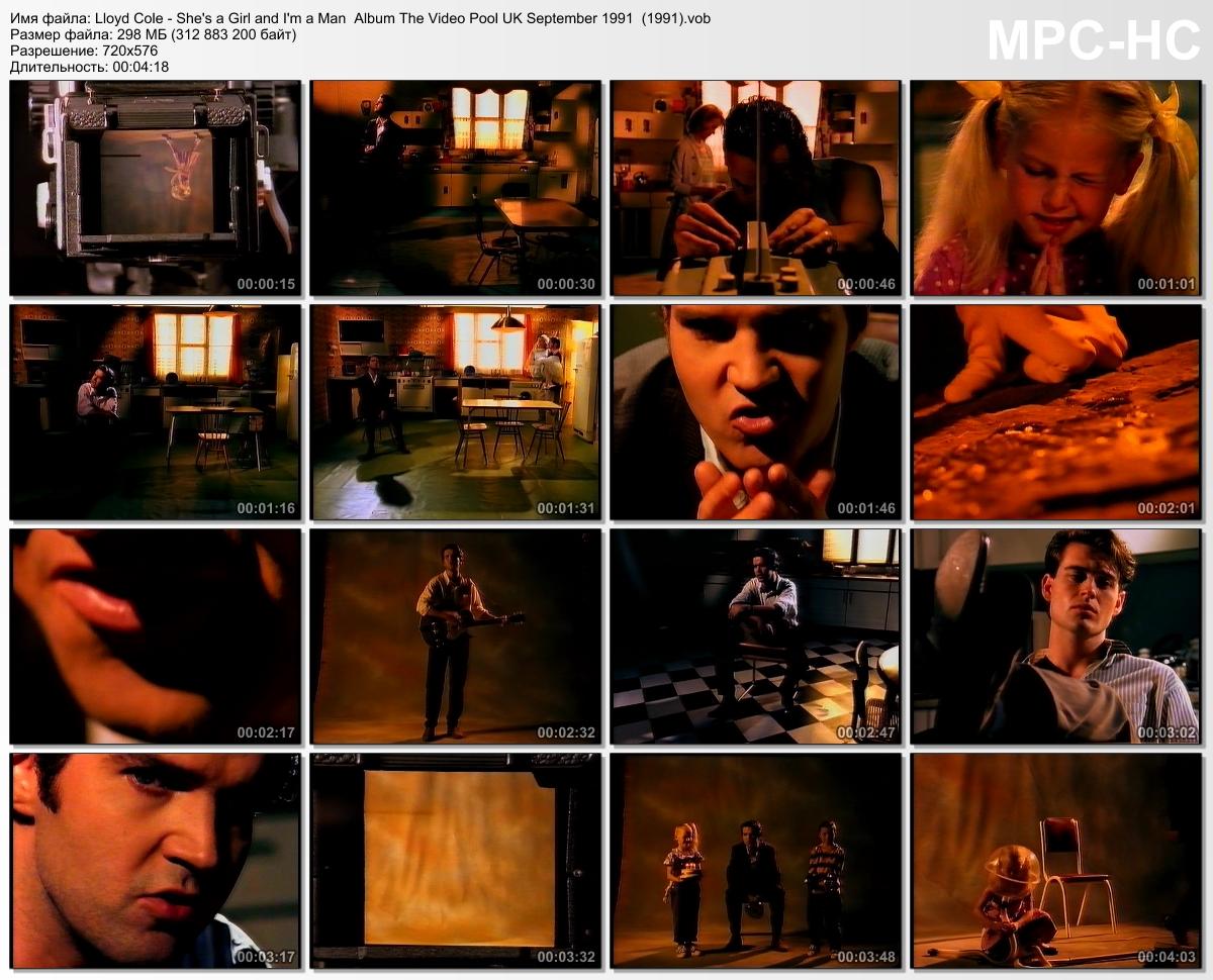 Lloyd Cole - She's a Girl and I'm a Man  (1991)