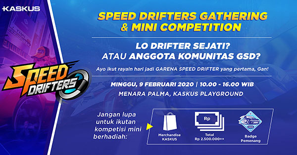 Speed Drifters Gathering & Mini Competition