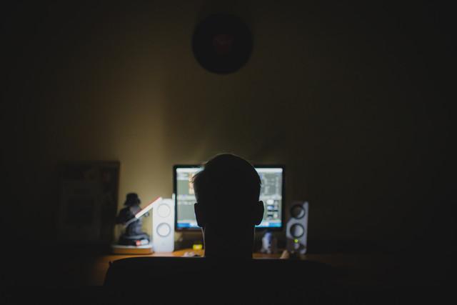 desk-computer-work-person-light-technology-night-internet-sitting-office-darkness-professional-light