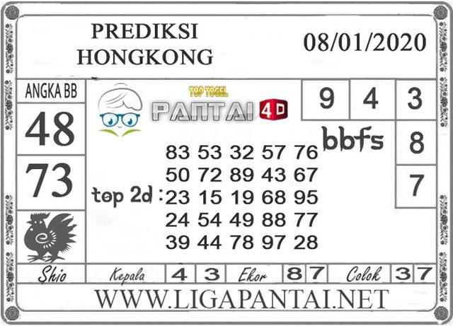 PREDIKSI TOGEL HONGKONG PANTAI4D 08 JANUARI 2020