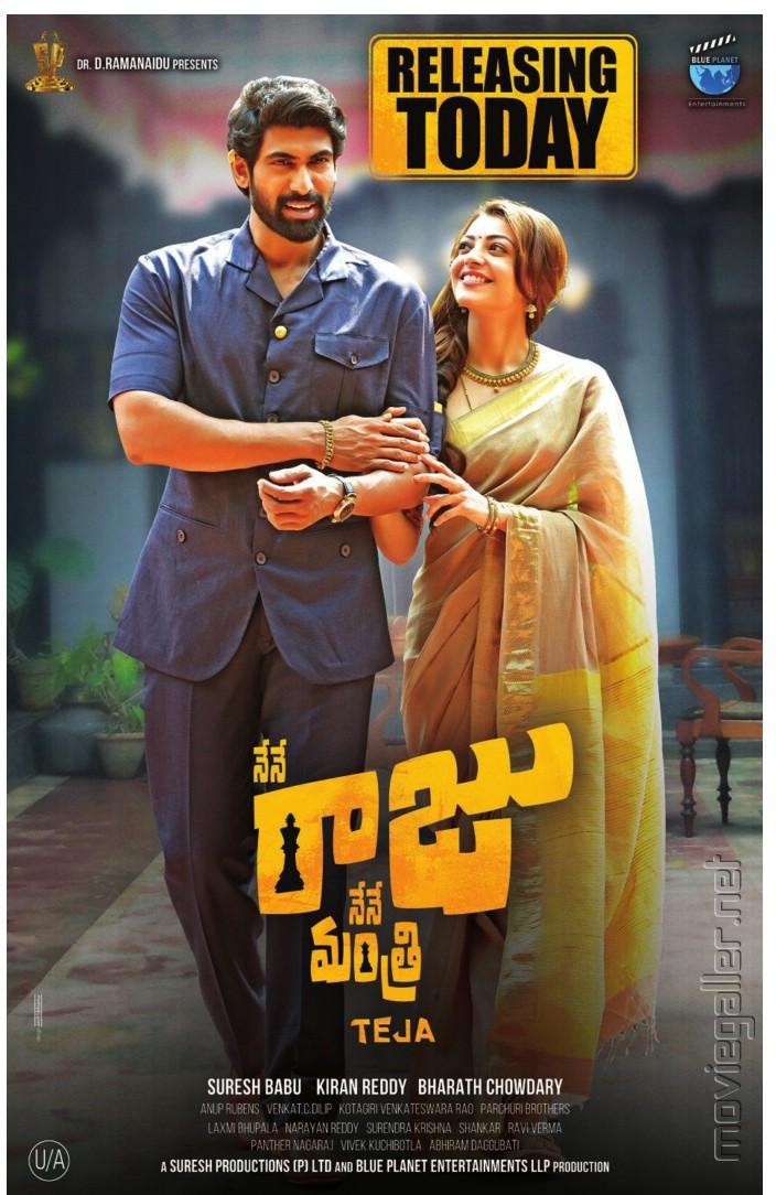 Rana-Daggubati-Kajal-Agarwal-in-Nene-Raju-Nene-Mantri-Movie-Release-Posters