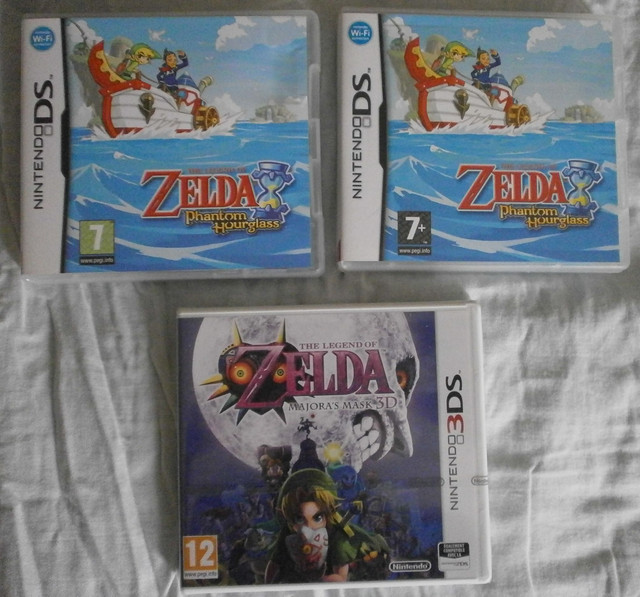 [ECH] (VDS) Zelda, DS, MD, 3ds, PS4 ** Baisse de prix ** Ds3