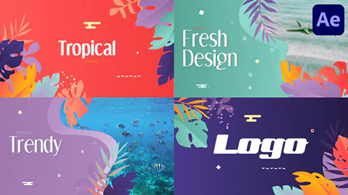 Tropical Promo Slideshow | After Effects 32184738 - Project for After Effects (Videohive)