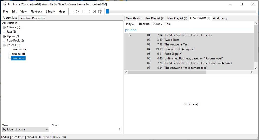 DSD, WavPack and Foobar SACD Decoder