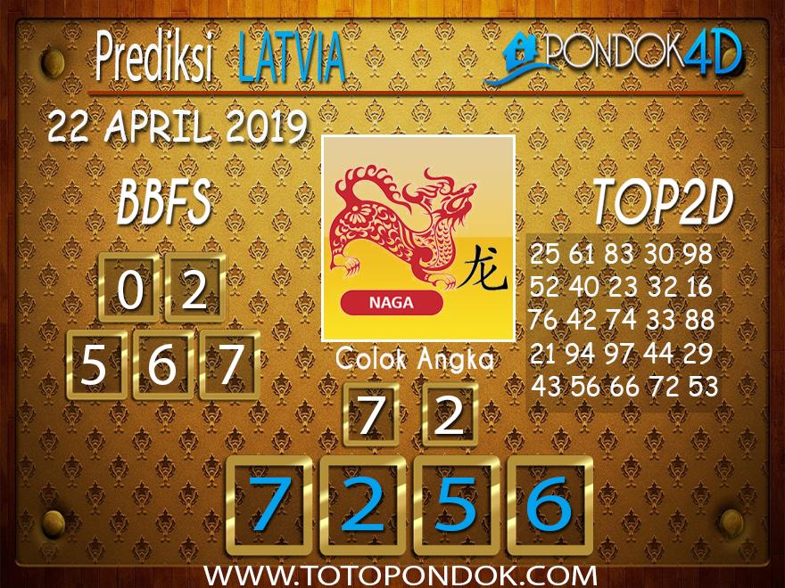 Prediksi Togel LATVIA PONDOK4D 22 APRIL 2019