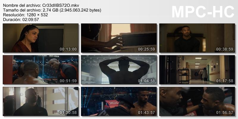 Creed II: La leyenda de Rocky (2018)[BR-Screener 720p][Castellano MiC][Drama][VS]