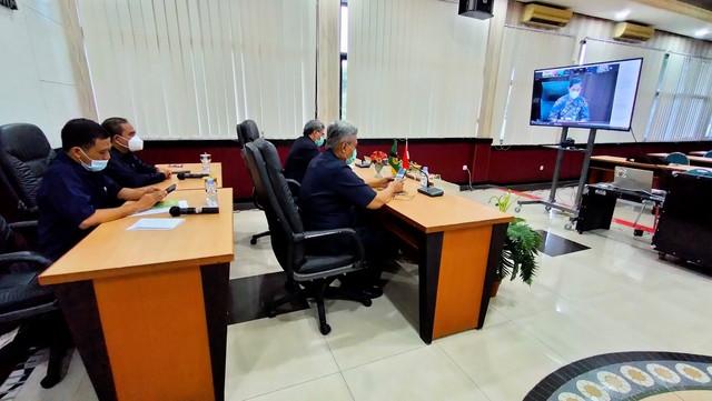 Exit Meeting Pemeriksaan Laporan Keuangan Mahkamah Agung RI Tahun 2020