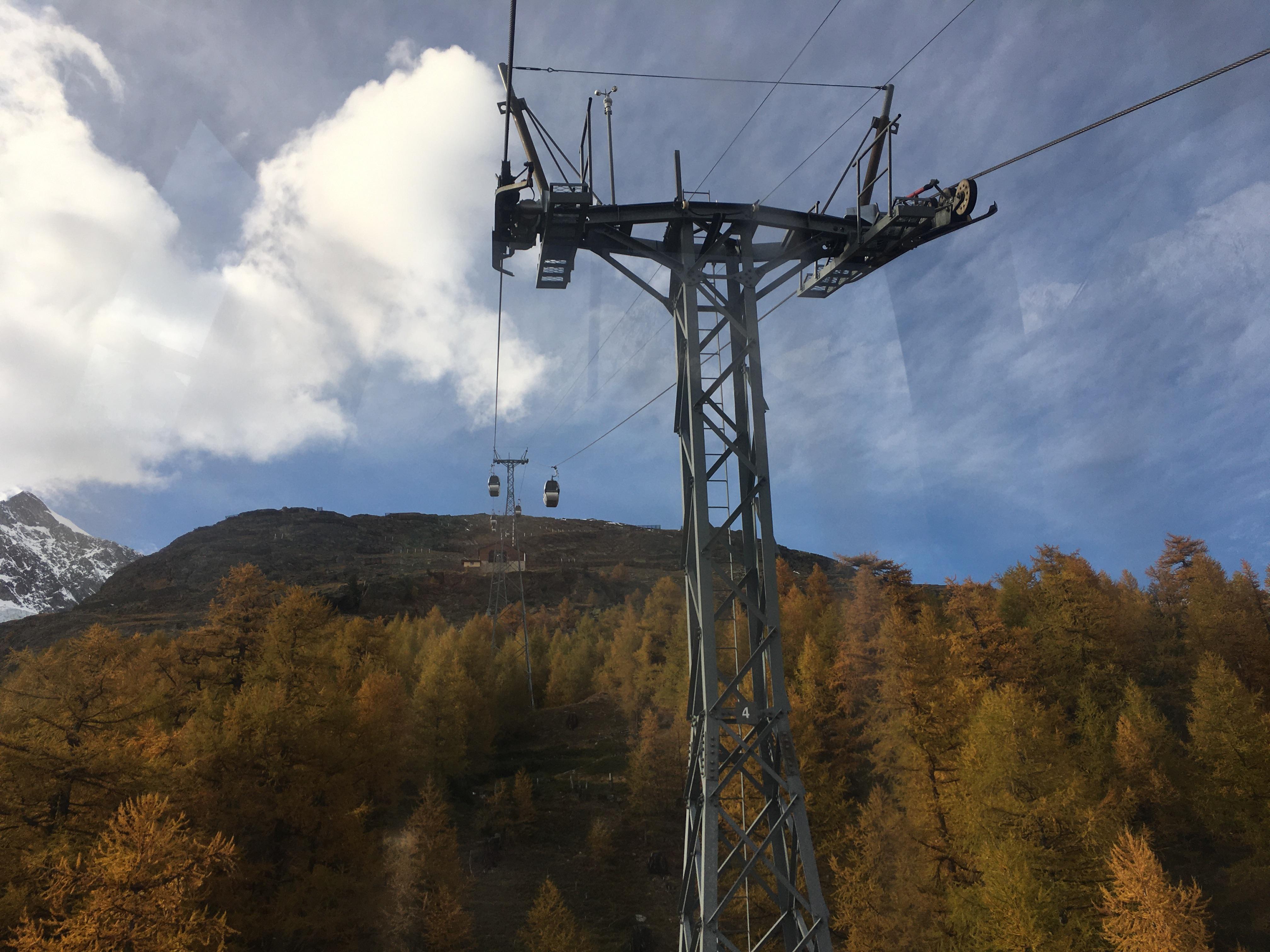 Télécabine débrayable 4 places (TCD4) Saas-Fee - Hannig IMG-3607