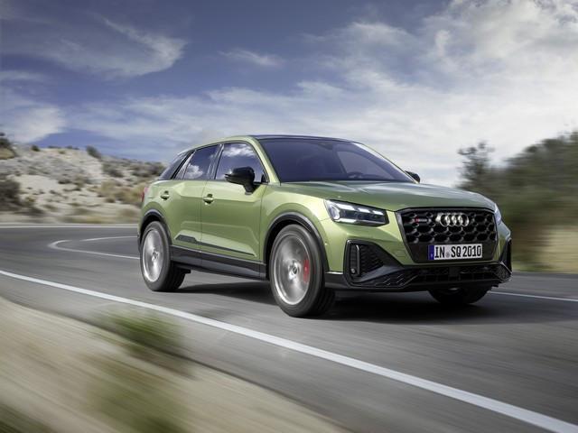 Voiture de sport compacte d'exception : Audi donne à l'Audi SQ2 un design encore plus abouti SQ2M010