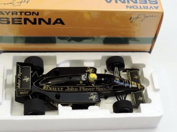 Senna Minichamps LOTUS J.P.S Renault 98T 1986