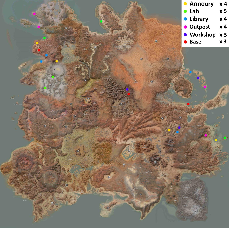 More Exploration Location / Больше мест для исследований (RU)