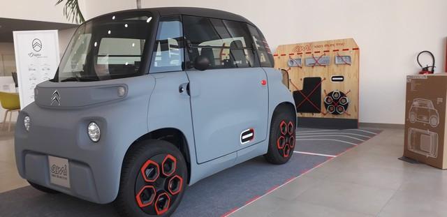 AMI - 100% Ëlectric Arrive Dans Le Réseau Citroën 20200708-084242