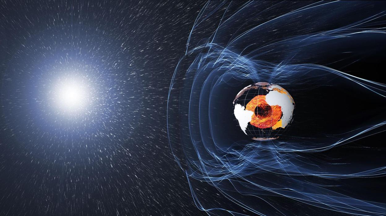 Confirman que el campo magnético de la Tierra estuvo a punto de desaparecer
