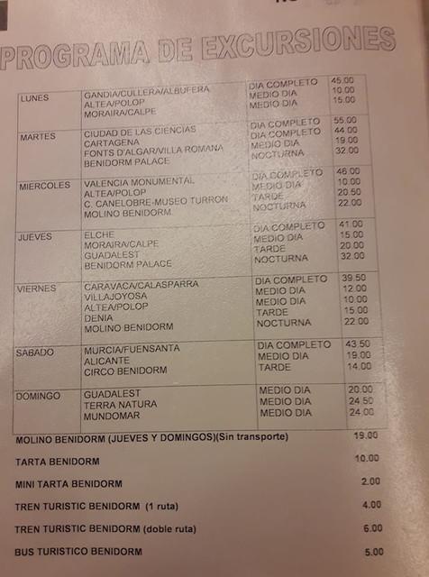 Lista-Excursiones-Benidorm