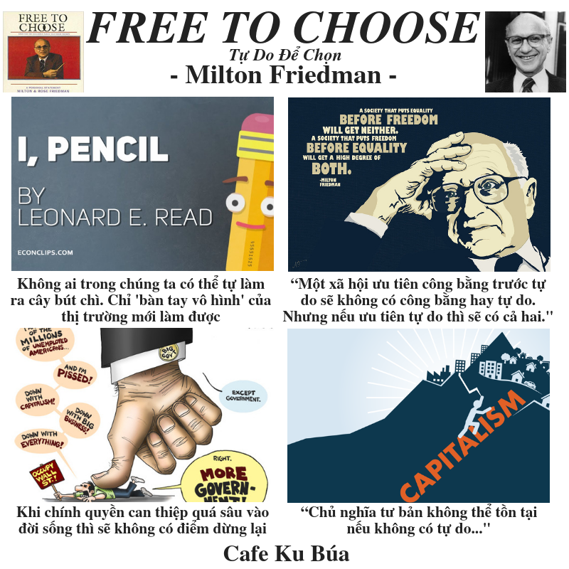MILTON FRIEDMAN: FREE TO CHOOSE – TỰ DO ĐỂ CHỌN