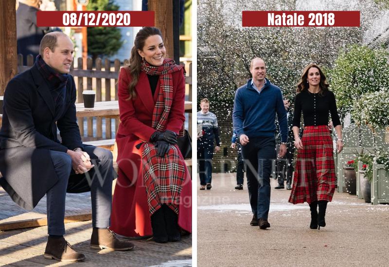 Kate Middleton e il look riciclato per il tour in Galles