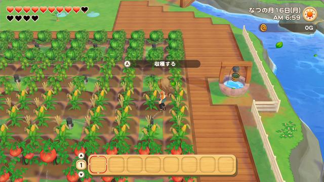 「牧場物語」系列首次在Nintendo SwitchTM平台推出全新製作的作品!  『牧場物語 橄欖鎮與希望的大地』 於今日2月25日(四)發售 016